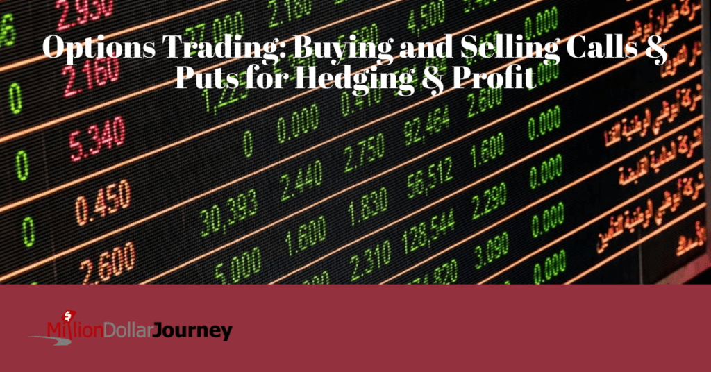 Options Trading: Buying and Selling Calls & Puts for Hedging & Profit