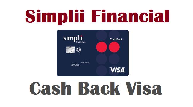 simplii cash back visa