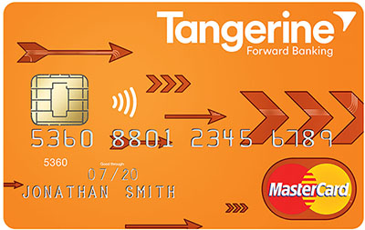 tangerine money back credit card