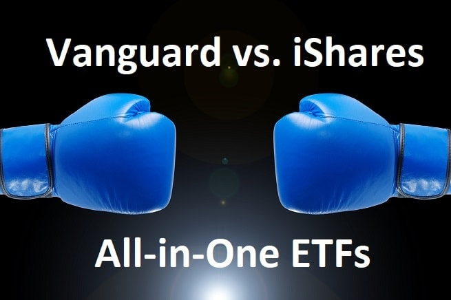 vanguard vs ishares all in one ETF