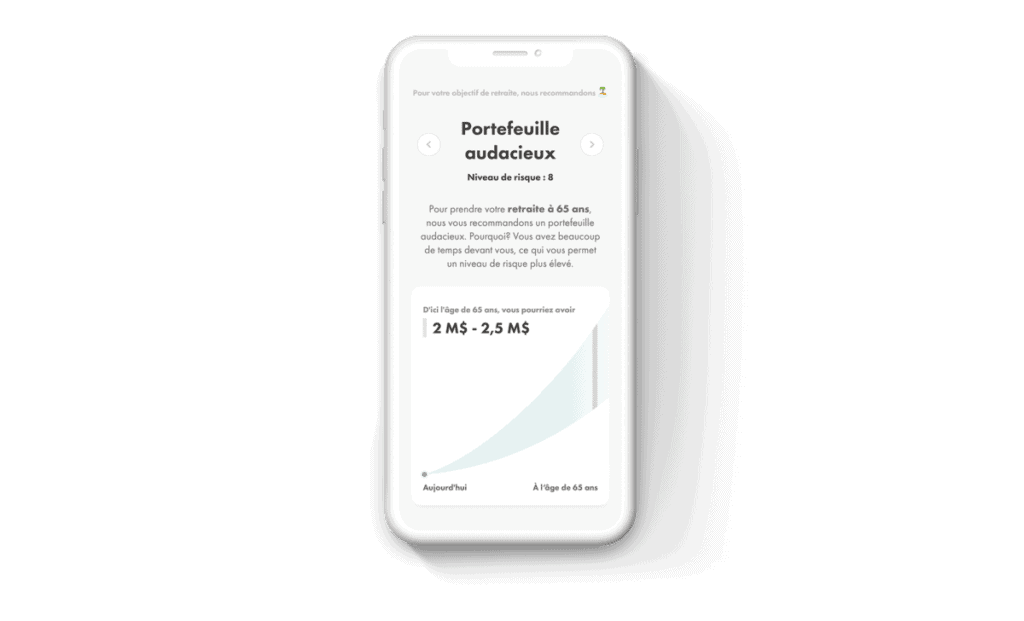 Wealthsimple Mobile French